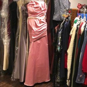 WTOO Barbie Pink Marilyn Monroe Sexy Slinky Gown